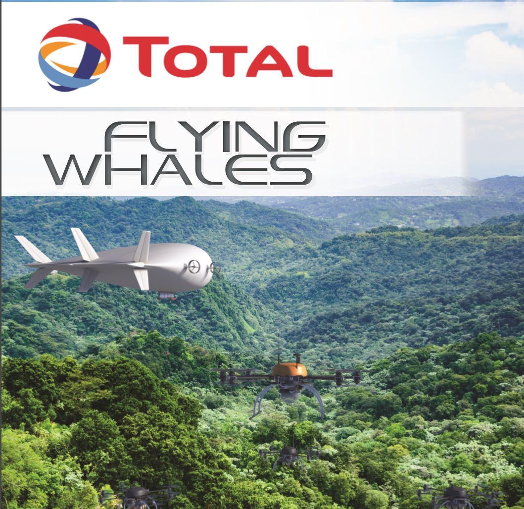 Illustration du programme METIS et du HA2T, Crédits : FLYING WHALES & TOTAL EP