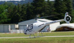 Le démonstrateur qui a réalise ce vol autonome avec un pilote de sécurité.