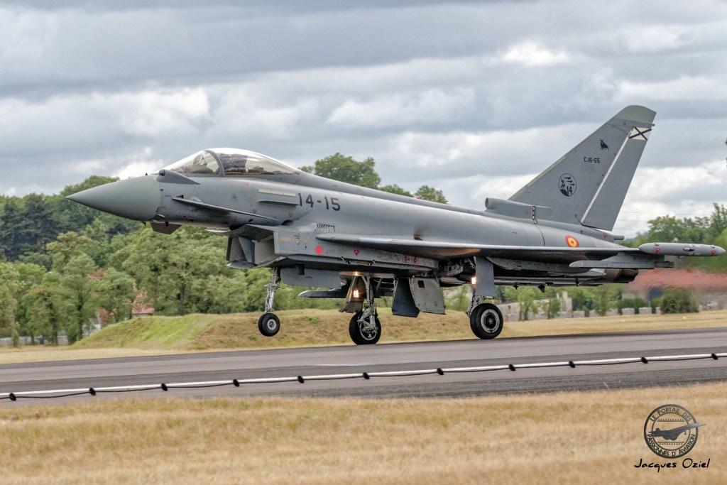 Eurofighter EF 2000 Typhoon - C.16 armée de l'air espagnole