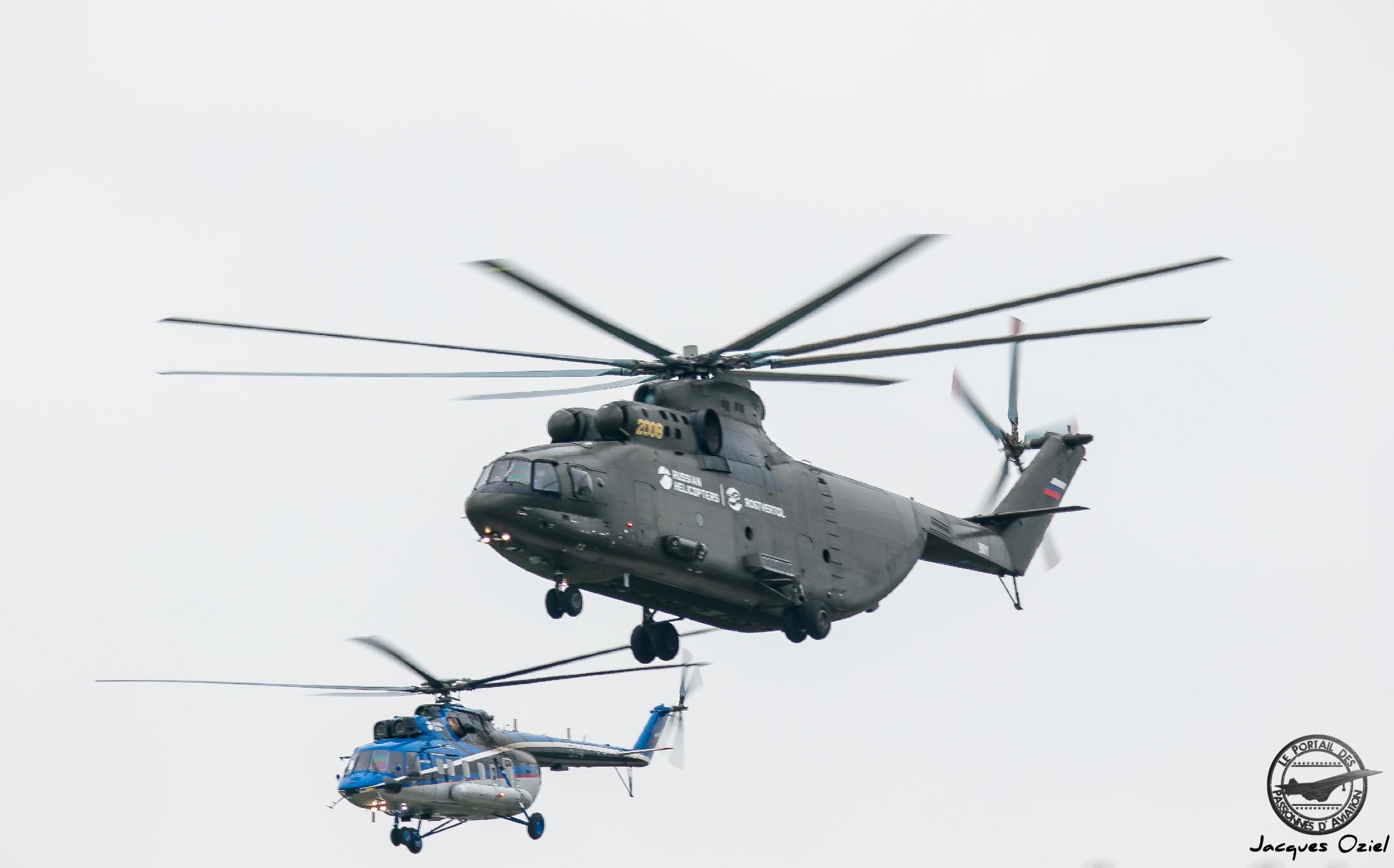 Mil Mi-171A2 & Mi-26T2, 2008 Jaune