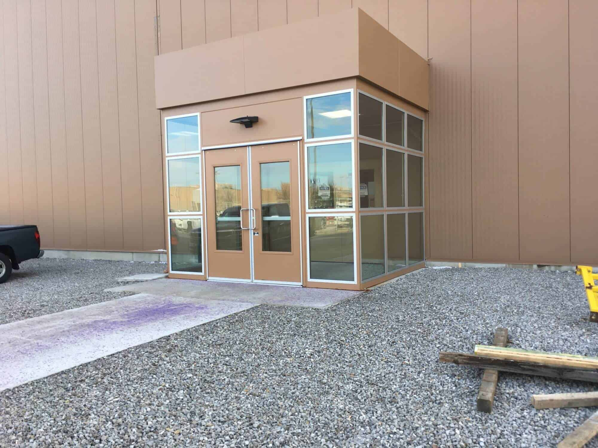 Vestibules Gallery  PortaKing Building Systems
