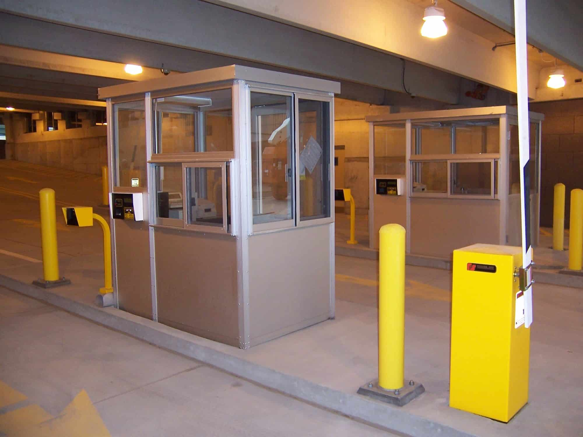 Parking Booths Gallery  PortaKing Building Systems