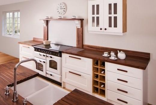 Pusťte dřevo do své kuchyně