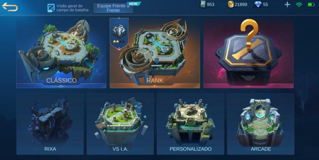 Arenas Mobile Legends Bang Bang
