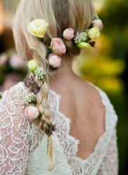 penteados de casamento com flores 11