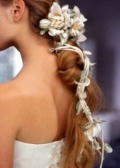 penteados de casamento com flores 2