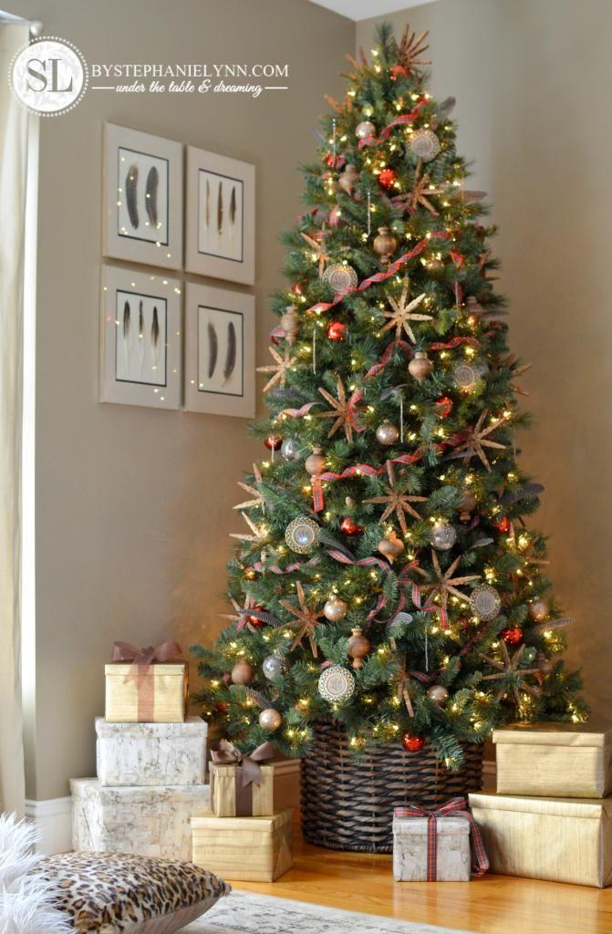 rvores de Natal Modernas  Veja modelos e como fazer