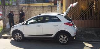 Carro roubado Osasco