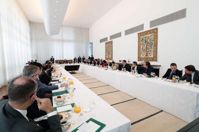 O presidente da República, Jair Bolsonaro, preside a 38ª Reunião do Conselho de Governo