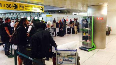"""Photo of Culpa das filas no aeroporto de Lisboa é """"a falta de condições do próprio aeroporto"""""""