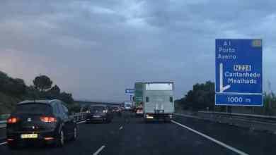 Photo of Acidente na A1 junto a Alverca está a condicionar o trânsito