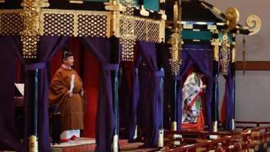 """Photo of """"Prometo aqui que sempre rezarei pela felicidade do povo japonês e pela paz mundial"""". Novo imperador do Japão proclama formalmente a sua entronização"""
