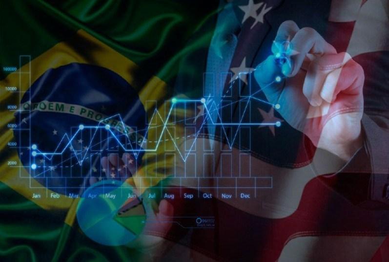 IPEA projeta alta de 41% no PIB Brasileiro em eventual acordo com os EUA