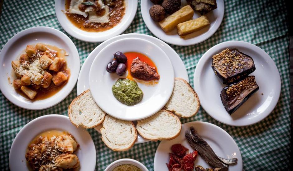 Pratos diversos da Cantina da Conchetta | Comer no Bixiga