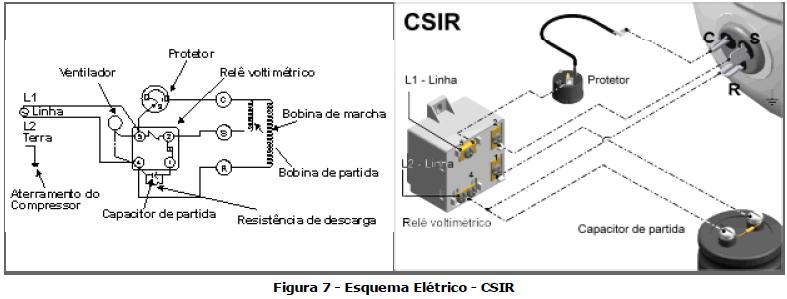 Como Ligar Compressor No Capacitor