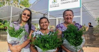 Hortas Sociais para Idosos é Premiado em Fortaleza