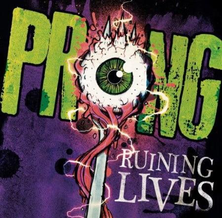 """Capa de """"Ruining Lives"""", o novo disco do Prong"""