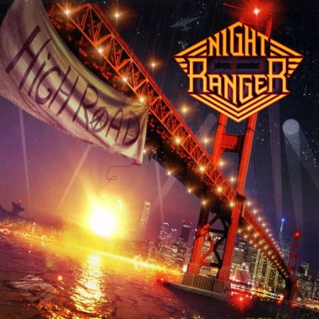 "Capa de ""High Road"", o novo disco do Night Ranger"