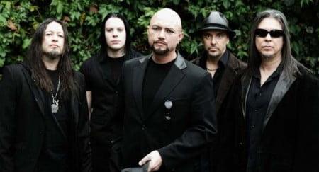 Formação do Queensrÿche ainda com Geoff Tate à frente dos vocais (foto:  divulgação)