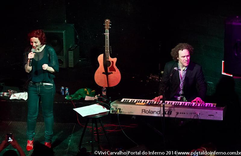 Anneke van Giersbergen & Danny Cavanagh – Manifesto Bar – São Paulo/SP