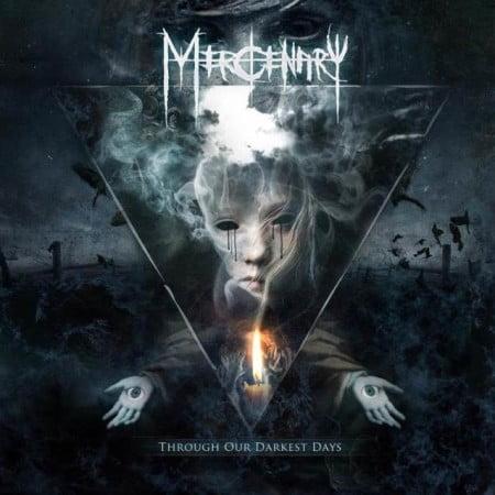 """Capa de """"Through Our Darkest Days"""", o mais recente disco do Mercenary"""