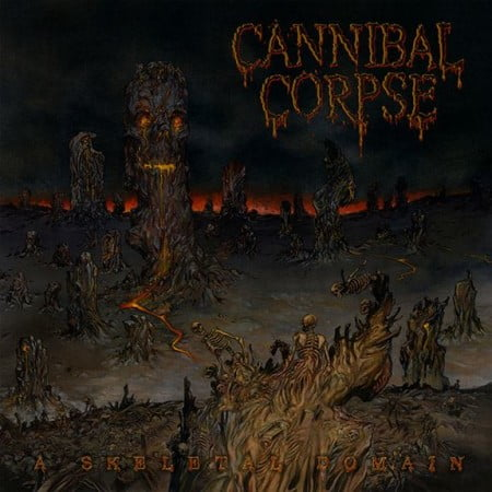 "Capa de ""A Skeletal Domain"", o próximo álbum do Cannibal Corpse"