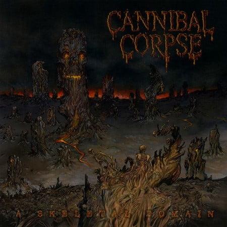 """Capa de """"A Skeletal Domain"""", o próximo álbum do Cannibal Corpse"""