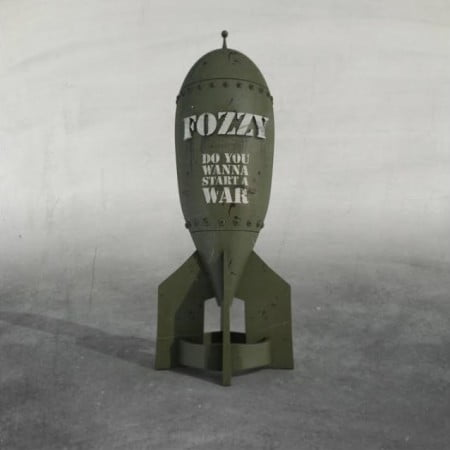"Capa de ""Do You Wanna Start a War"", o novo disco do Fozzy"