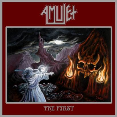 """Capa de """"The First"""", o primeiro disco do Amulet"""