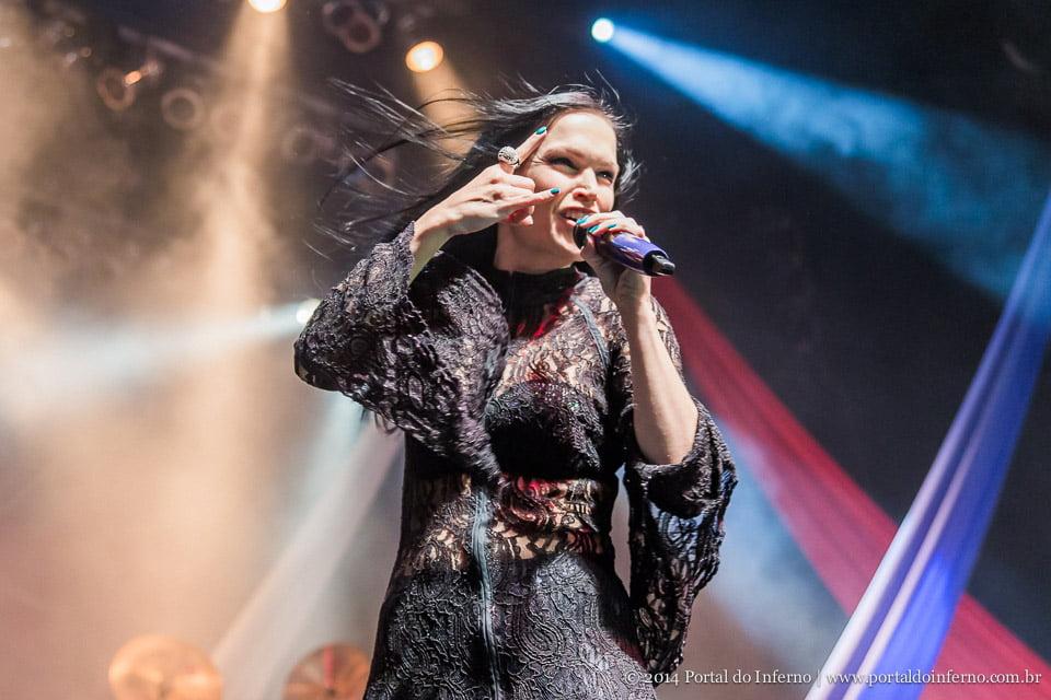 Tarja Turunen: cantora confirma show em Fortaleza