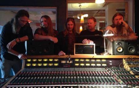 Enslaved em estúdio, na Noruega, para registrar seu novo disco