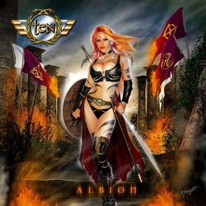 """Capa de """"Albion"""", o novo álbum do Ten"""