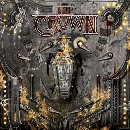 "Capa de ""Death Is Not Dead"", novo álbum do The Crown"