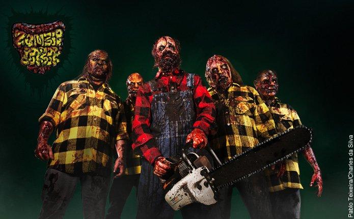 Zombie Cookbook: finalizadas as gravações do primeiro videoclipe, confira fotos