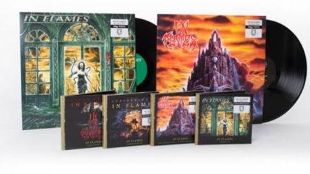 Alguns dos discos do In Flames que estão sendo relançados pela Century Media