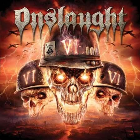 """Capa de """"VI"""", o sexto e mais recente disco do Onslaught"""
