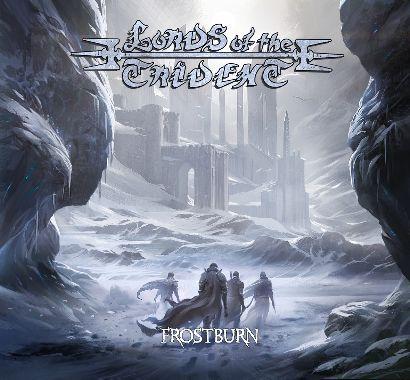"Capa de ""Frostburn"", o novo disco full-lenght do Lords of the Trident"