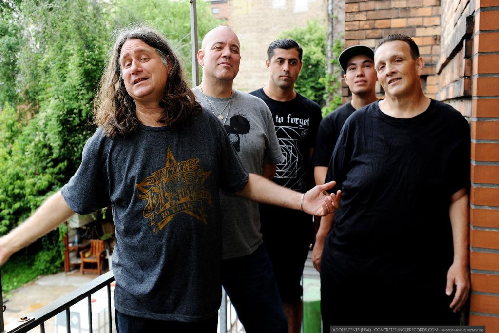 The Adolescents: banda  confirma cinco shows no Brasil