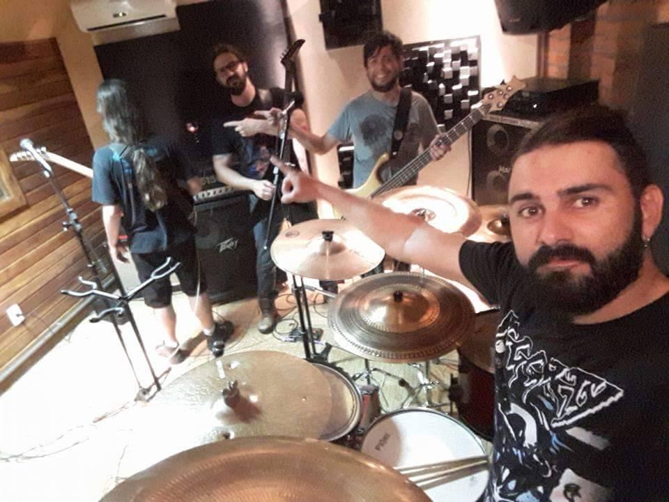 Matricidium: banda esta em estúdio gravando o novo álbum