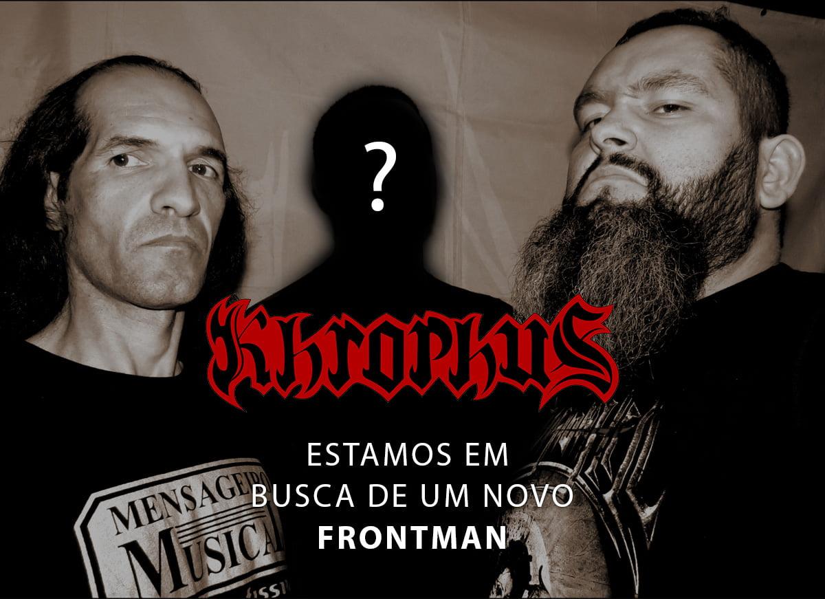 "Khrophus: banda procura novo ""Frontman"""