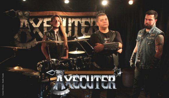 Axecuter: banda apresenta nova formação em performance no Studio Tenda, confira!
