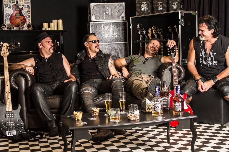 Doctor Pheabes: banda abre show do Black Sabbath em São Paulo