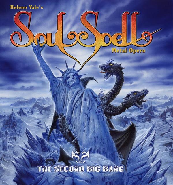 "Soulspell Metal Opera: divulgado capa, tracklist e teaser de novo álbum ""The Second Big Bang"""