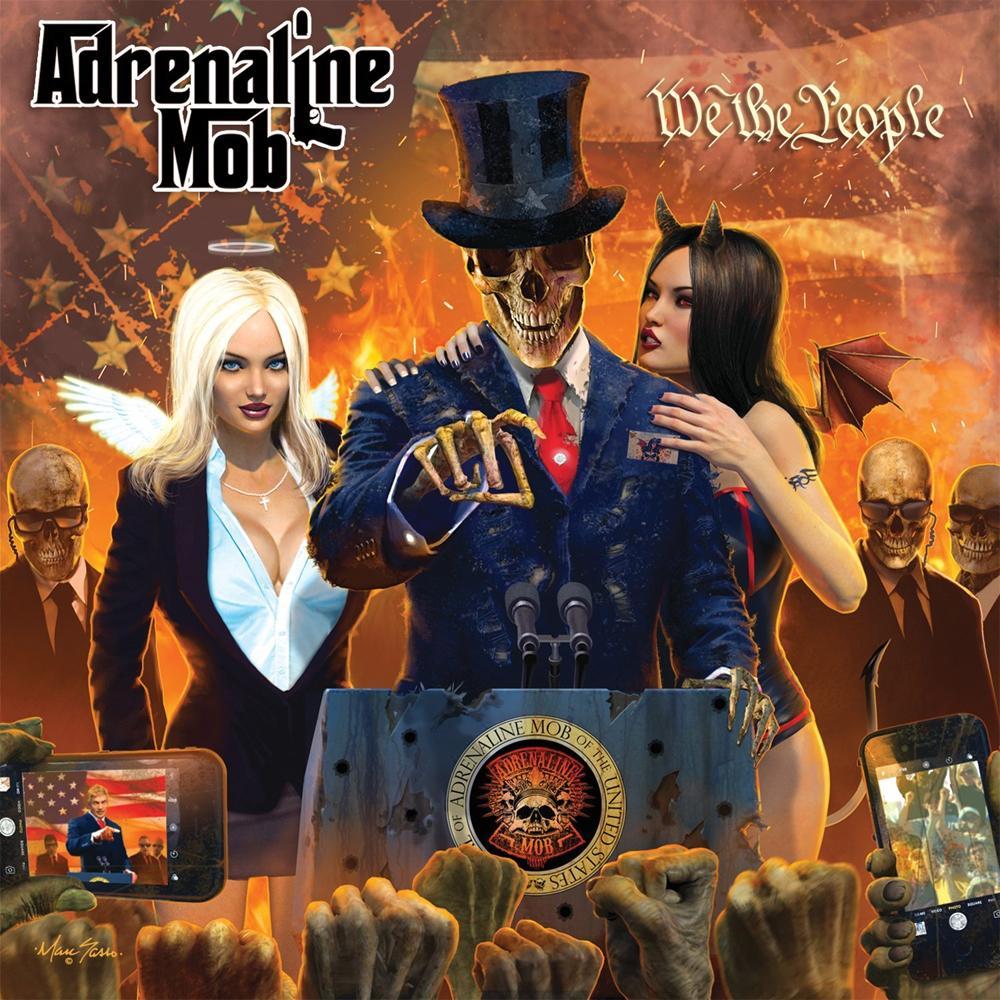 "Adrenaline Mob: videoclipe de nova música ""King Of The Ring"""