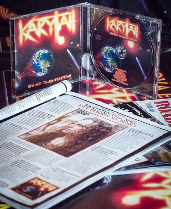 Karyttah: banda é destaque com entrevista na edição #220 da revista Roadie Crew