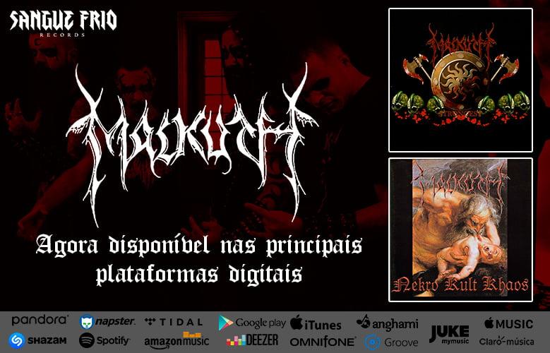 """Malkuth: clássicos """"Nekro Kult Khaos"""" e """"Strongest"""" já estão disponíveis para streaming, confira!"""
