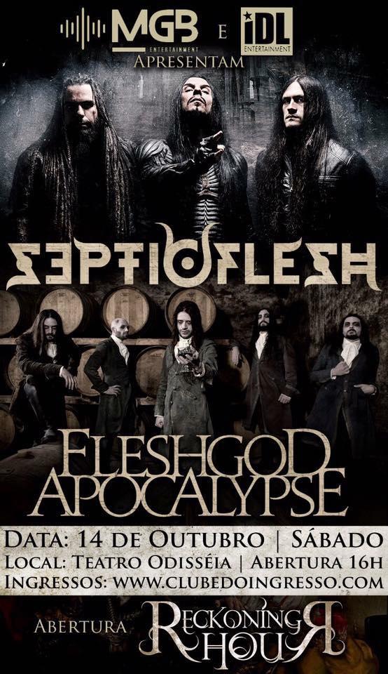 Reckoning Hour – Fleshgod Apocalypse – SepticFlesh