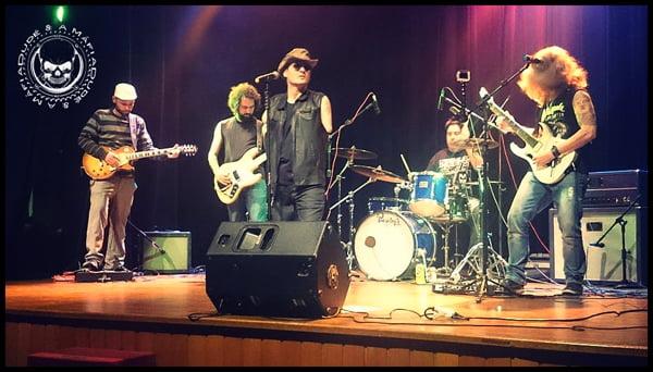 """Dudé e A Máfia: assista participação da banda no programa """"Rock as Pampas"""""""