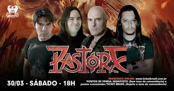 Pastore confirma show no Manifesto Bar dia 30 de Março; ingressos já estão à venda