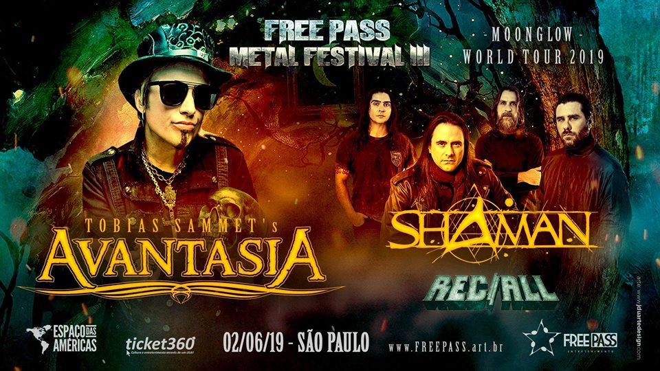 Avantasia será headliner do Free Pass Metal Festival III